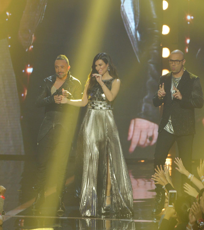Laura Pausini in Ettore Bilotta a Miami