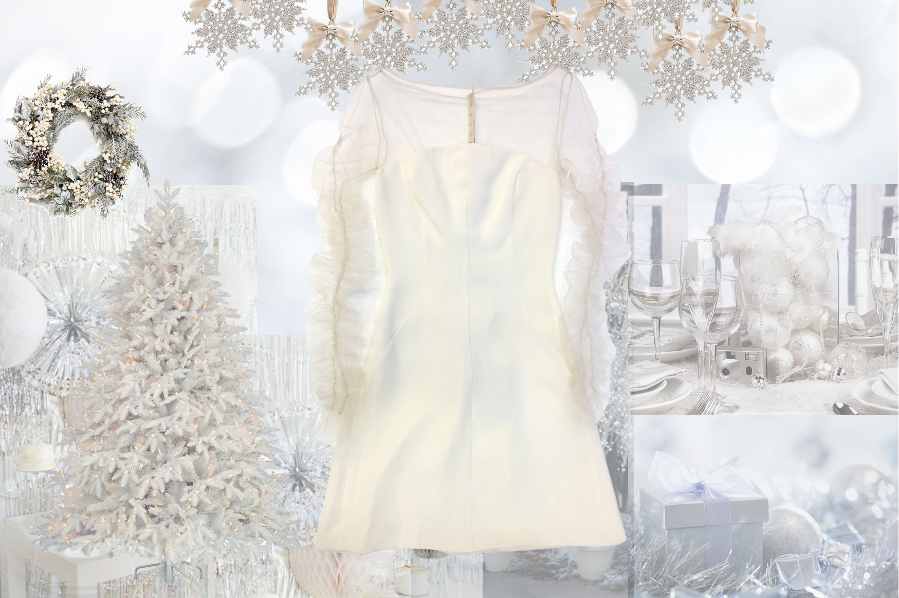 White christmas party dress - Ettore Bilotta